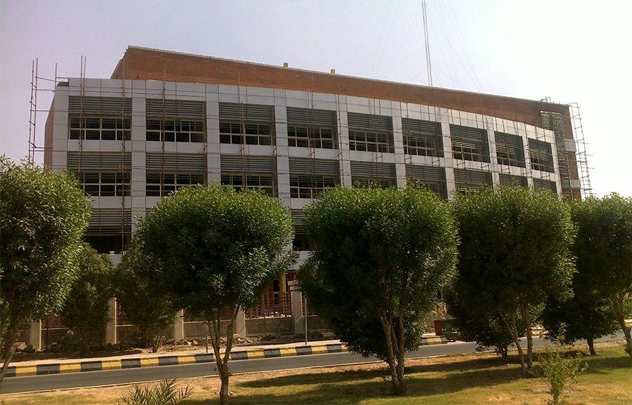 ساختمان توزیع برق اهواز