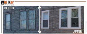 تعویض در و پنجره قدیمی با در و پنجره upvc