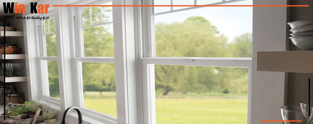 مدل های پنجره دوجداره انزو